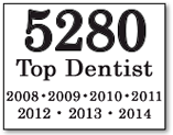 5280 Top Dentist 2008-2014