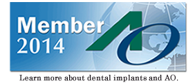 As an active member of AO (Academy of Osseointegration), this dental practice offers advanced specialized knowledge about the science and clinical applications of implant dentistry.